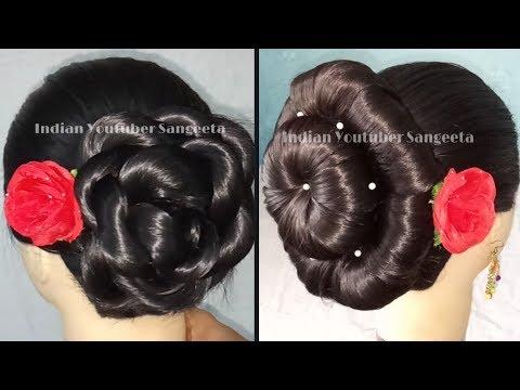 2 Trending Juda Hairstyles For Weddings Easy Hairstyles Party Hairstyles Latest Hairstyles Mera Virsa